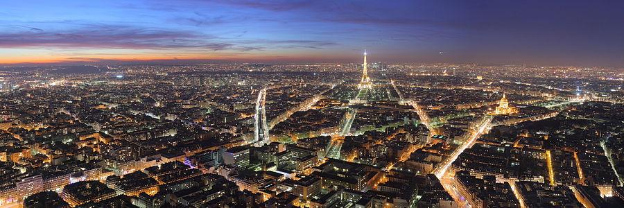билет в париж, тур в париж